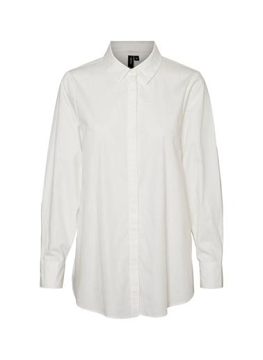 Fabrika Copenhagen Fabrika x Copenhagen Bol Kesim Beyaz Gömlek Beyaz